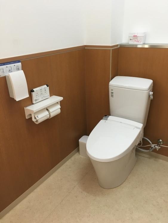 トイレが新しくなりました(文:総務課 市川)
